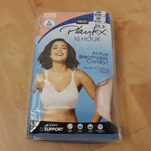 Playtex 18 Hour Active Breathable Comfort Bra
